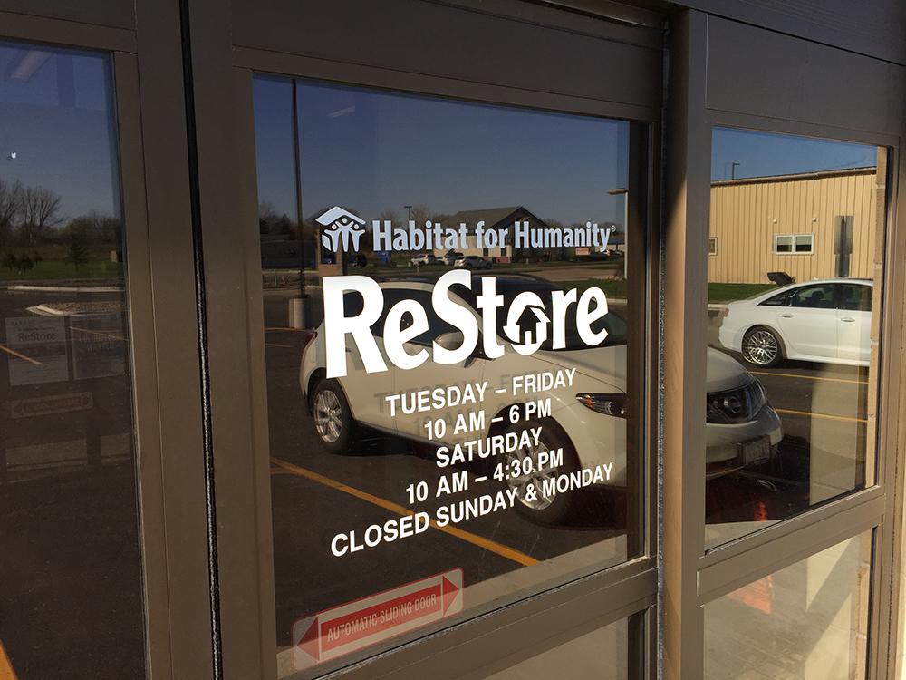 Habitat ReStore front door